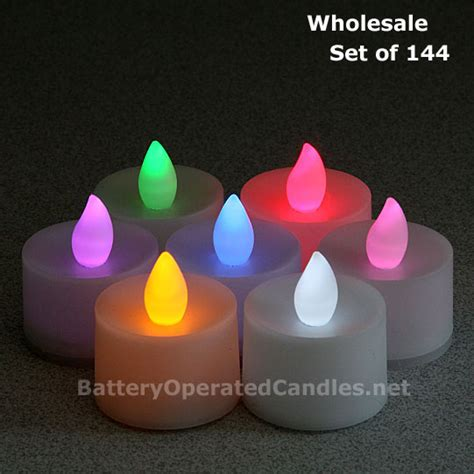 battery tea lights bulk battery operated with timer wholesale affordable