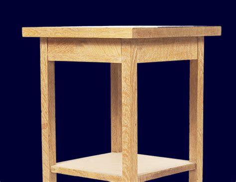 bedside table woodworking plans bedside table