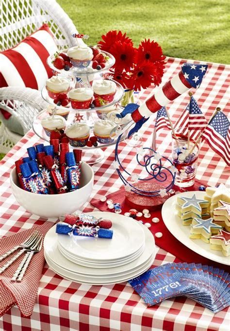 fourth of july table decorations 5 dreamy tablescapes for the 4th of july daily decor