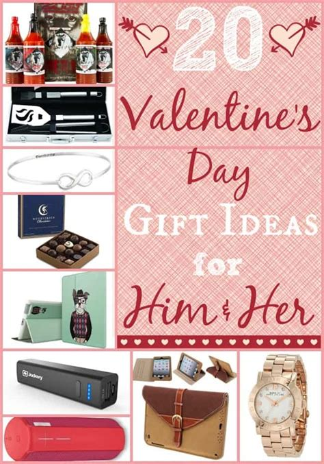 valentines day ideas for her 20 valentines day gift ideas for him and her