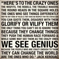 blend of loving energies heres to the crazy ones 3 30 2014