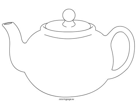 teapot printable coloring pages print coloring pages www