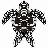 Hawaiian Sea Turtle Clipart | 550 x 550 jpeg 58kB