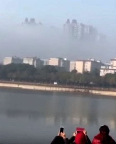 floating city seen yueyang china sparks claims of