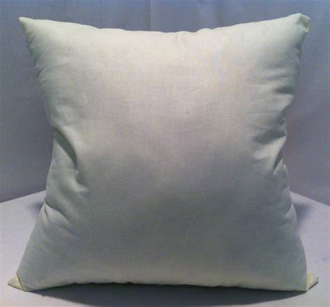 Square Pillow Inserts by 16 Inch Square Pillow Faux Pillow Insert Custom Made
