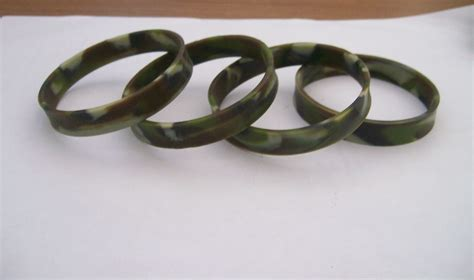 where can i get a custom rubber st made camouflage silicone bracelets my