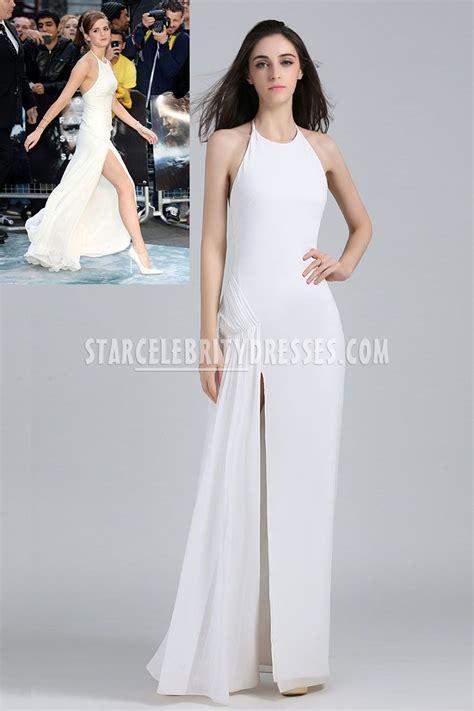 emma watson graduation dress emma watson white celebrity evening prom dress london