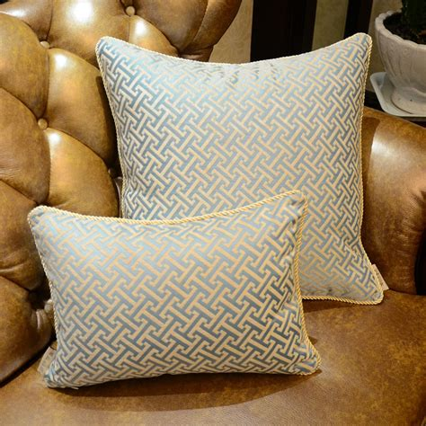 Luxury Sofa Pillows Luxury Throw Pillows For Sofas European Embroidered Luxury Cushion Without Inner Decorative