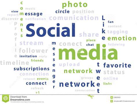 typography word cloud typography word cloud tags of social media stock photos