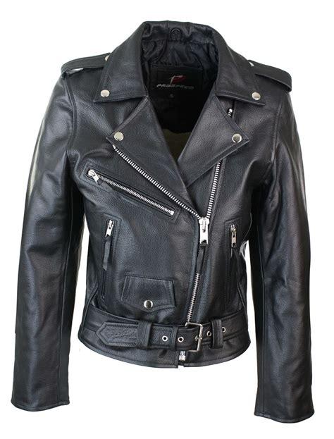 classic motorcycle jacket ladies women classic brando biker motorcycle motorbike