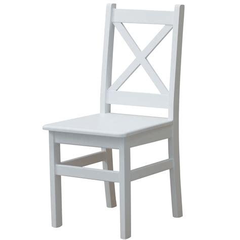 stuhl kiefer stuhl kreuzstuhl wei 223 massiv kiefer holz neu landhausstil