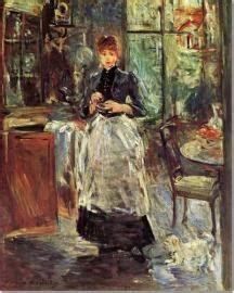 Berthe Morisot In The Dining Room Impressionism Chapter 1 History Kcah 311 With Eberle At Kendall College Of Design