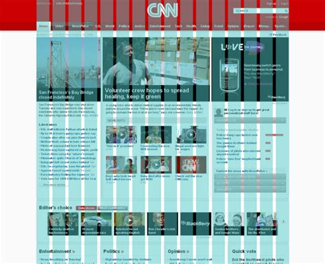 page layout design grid www pixshark com images cnn s new website design deconstructed webdesigner depot