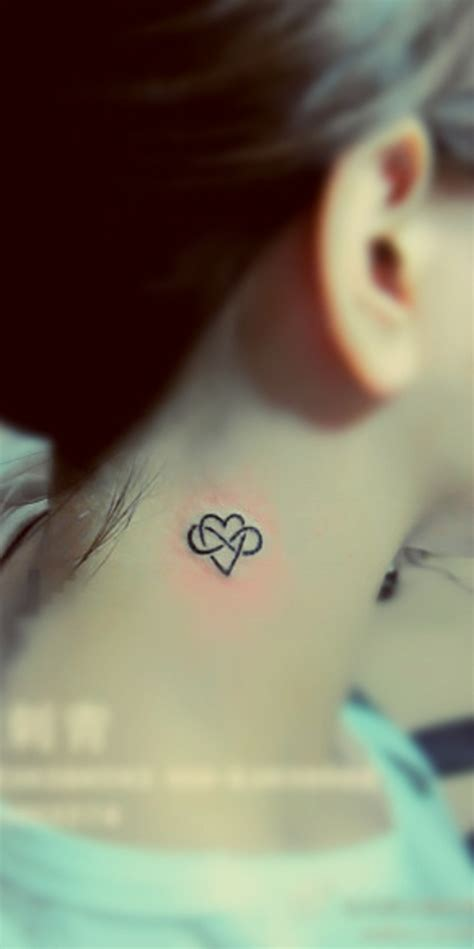 little heart tattoo 57 beautiful neck tattoos