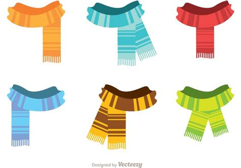 Syal Scarf Flower Pattern Simple Design R8cecb free vector fringed neck scarf vectors 34059 my graphic hunt