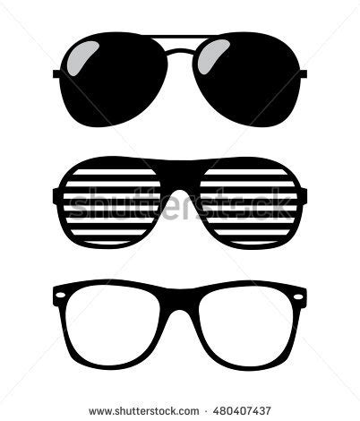 sunglasses vector illustration background stock vector