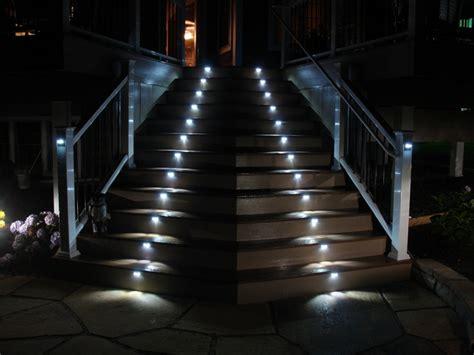 geländer für aussentreppe design treppe beleuchtung
