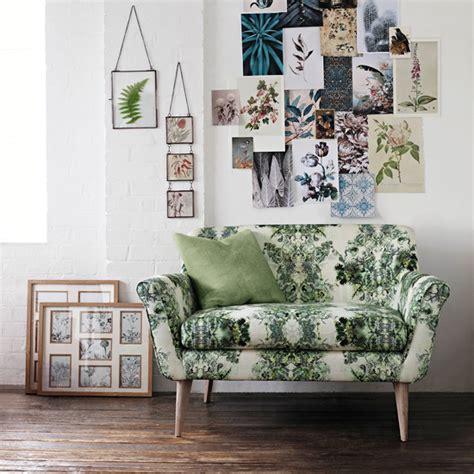 sofa flower print floral print sofa trend for spring 2015