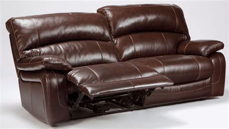 ashley furniture power recliner damacio dark brown 2 seat power reclining sofa from ashley