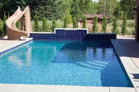 Slide For Backyard Pool Backyard Design Ideas Backyard With A Pool