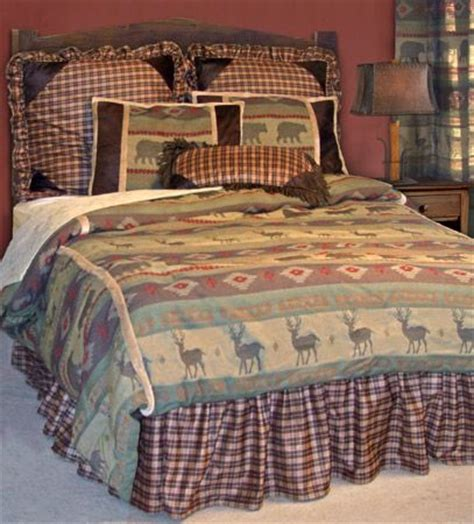 Lodge Bedding Sets In A Bag Heartland Bed In A Bag Set Rustic Bedding Sets Pinterest Heartland Cabin And Log Cabins