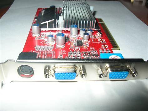 Vga Card Dual View products pci 7500 dvi vga tv or dual vga display card no support windows 7