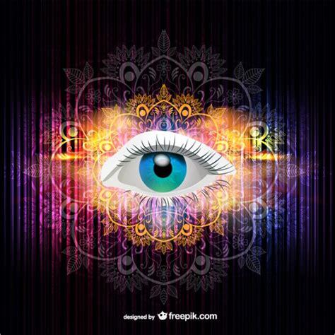 imagenes de ojos con flores vector ilustraci 243 n de ojo descargar vectores gratis