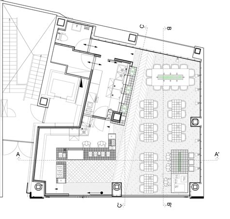 internet cafe layout plan floor plan of coutume cafe aoyama in tokyo japan by cut