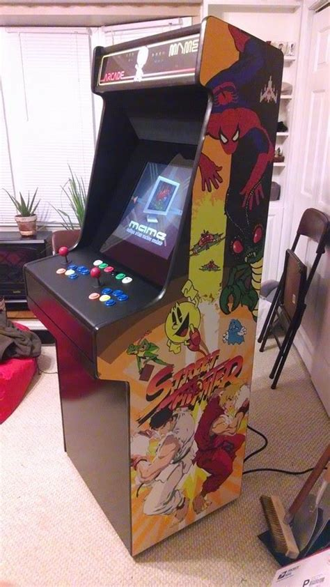 Make Your Own Arcade Cabinet by 17 Best Images About Diy Arcade Cabinets On