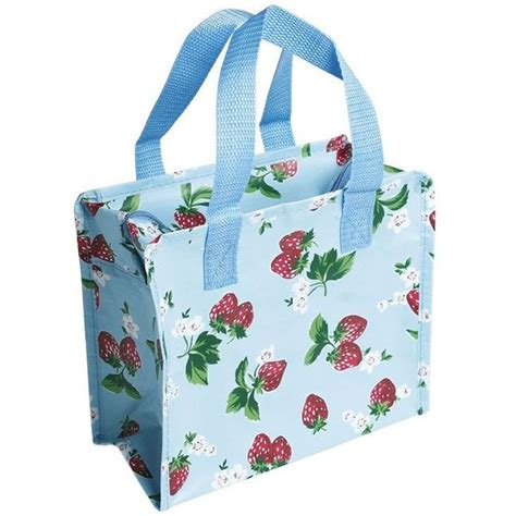 small recycled reusable shopping bags strawberries fmag