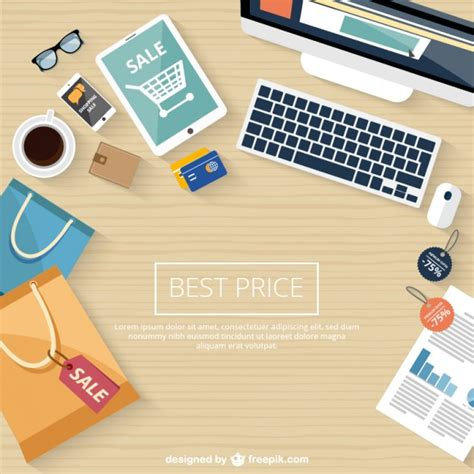 Wallpaper Free Sles Online | shopping online sale background vector free download
