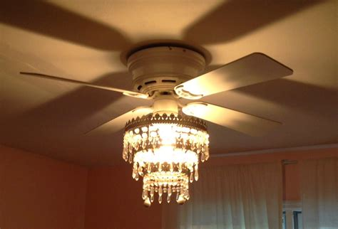 mess of the day ikea hack ceiling fan chandelier - Ceiling Fan Chandelier
