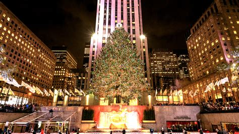 nyc tree lighting 2016 2016 rockefeller tree lighting a york tradition
