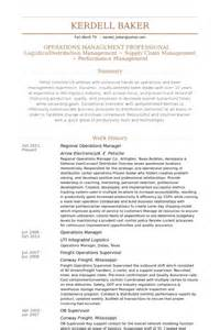 Regional Manager Resume Exles by Regional Operations Manager Resume Sles Visualcv Resume Sles Database