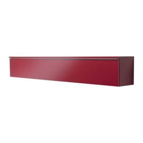 ikea besta red best 197 burs wall shelf high gloss red from ikea
