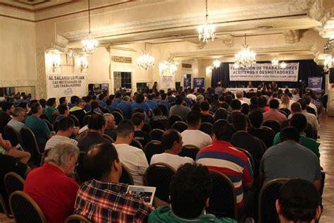 propuesta salarial amsafe rosario trabajadores de la aceiteros rosarinos rechazan la propuesta de un aumento
