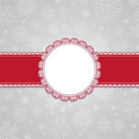 ribbon background ribbon snowflakes background vector free