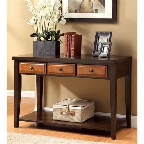 cherry sofa table with storage 45 best mantle or consol table decor images on pinterest