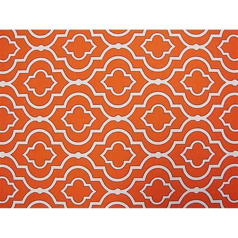 orange futon cover