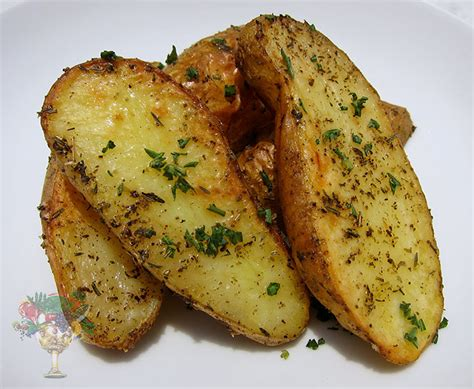 oven baked potato wedges recipes dishmaps
