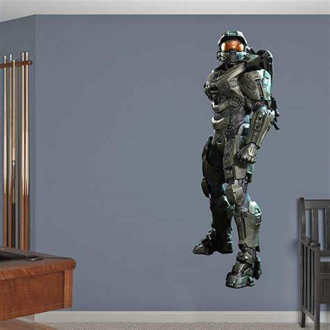 halo wall stickers master chief halo 4 fathead wall decal