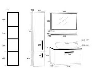 hauteur standard vasque salle de bain
