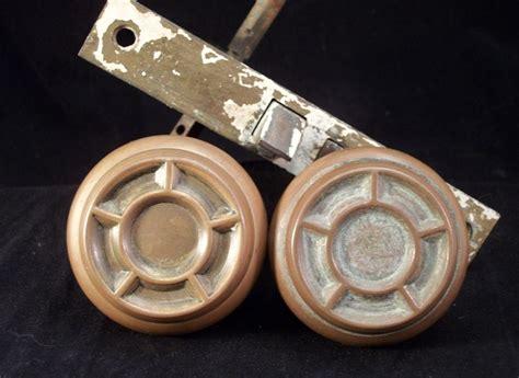 Nautical Door Knobs by 19th C Bronze Nautical Ship Wheel Door Knobs Lockset