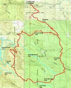 oregon hiking trail maps silver falls perimeter loop hike hiking in portland