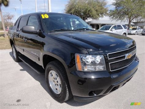 Outside Ls by Black 2010 Chevrolet Avalanche Ls Exterior Photo 61063238