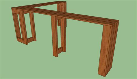 Console Table Plans by Diy Console Table Plans