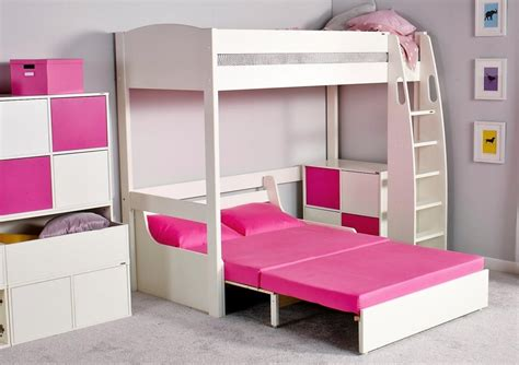 20 collection of high sleeper with desk and sofa bed