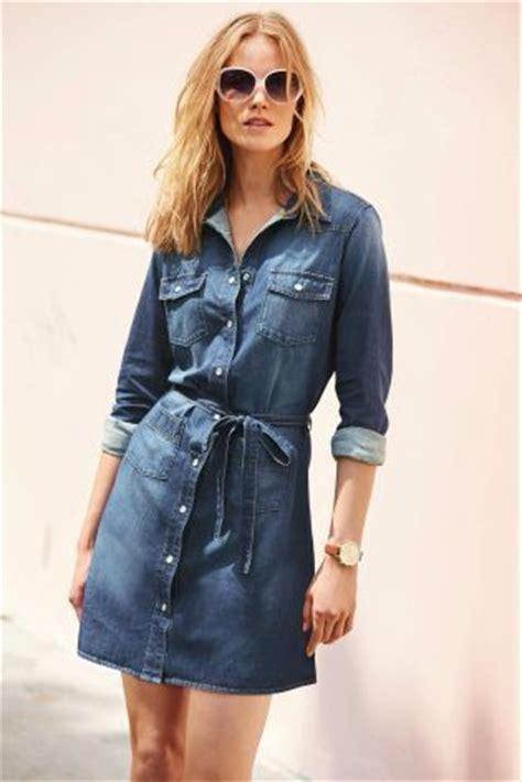 Dress The Next denim shirt dress next pickture