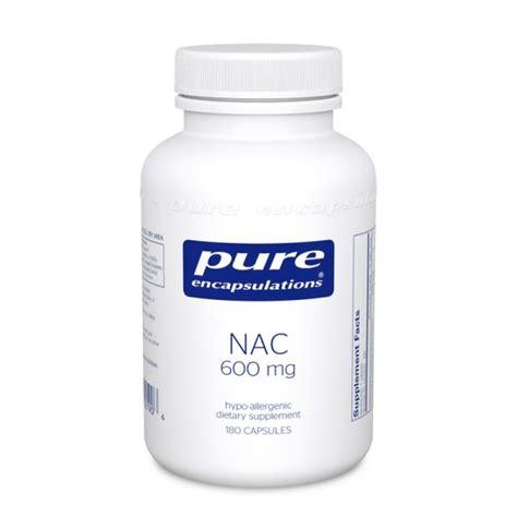 supplement l cysteine nac n acetyl l cysteine 600 mg