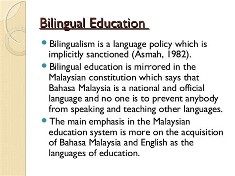 thesis statement about bilingual education argumentative essays on bilingual education